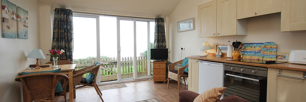 Self catering chalet blue anchor
